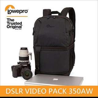 全新免運Lowepro DSLR Video Pack 350 AW 小兔@(camera bag)悍將 全功能背包 可放入兩機四鏡~都有現貨,歡迎直接購買~ 彰化市有店面-近中山國小