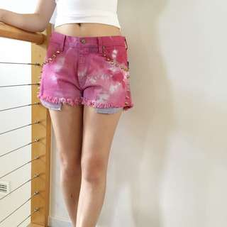 100% Cotton Summer Watercolour Shorts