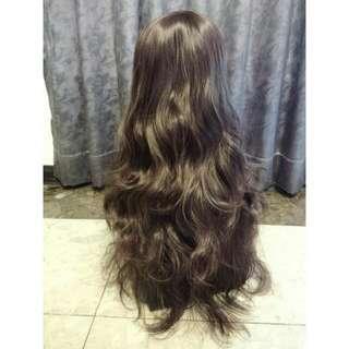 B20 深棕色捲髮