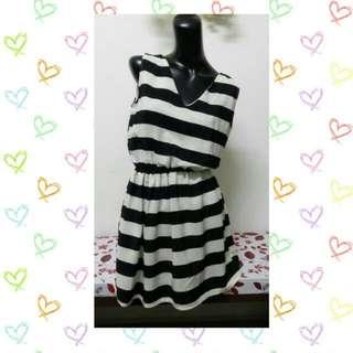 (Brand New) Casual Stripe Dress