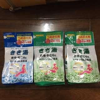 日本泡湯泡澡劑補充包