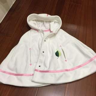 嬰兒斗篷 2歲以下可穿 只穿過兩次