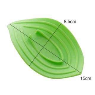 皂露花 葉子型 肥皂盒 綠色