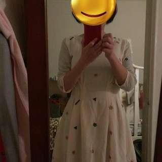 雪紡紗洋裝(含運)