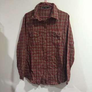 紅綠格子襯衫