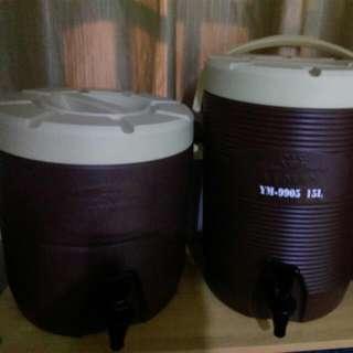 茶桶兩個6成新