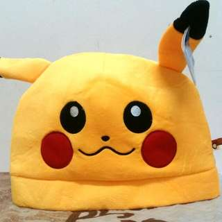 Cute Pikachu Cosplay Hat