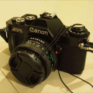 CANON AV-1 AV1 FD 50mm F2 鏡頭 底片 單眼相機 FD接環