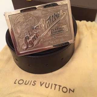 LV Big Buckle Belt