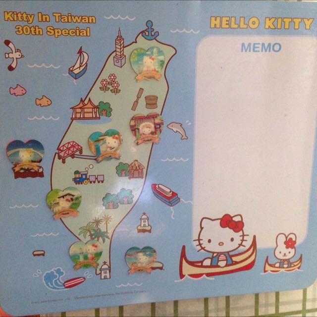 7-11 Hello Kitty 台灣磁鐵版 $150