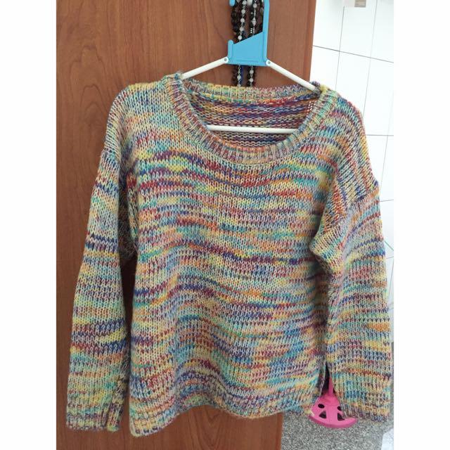 🎈彩色針織毛衣