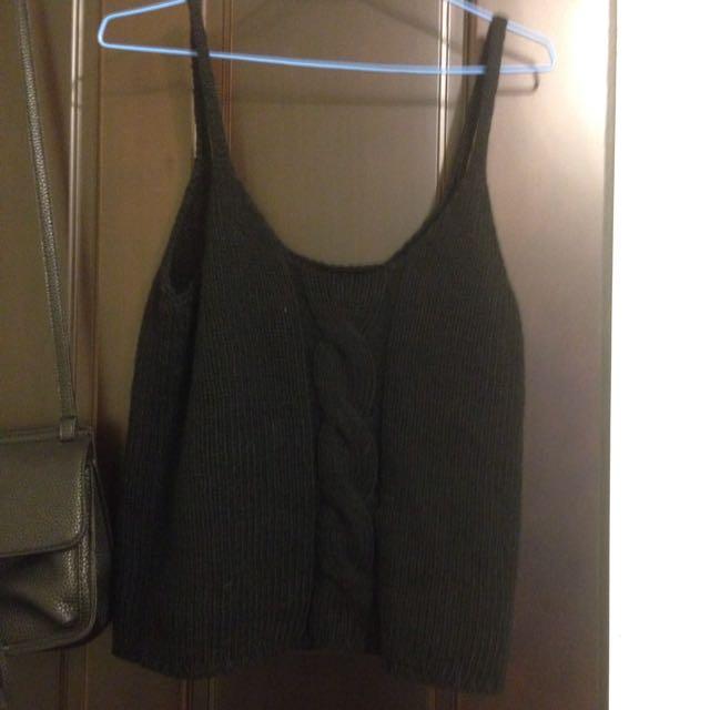 針織毛衣背心