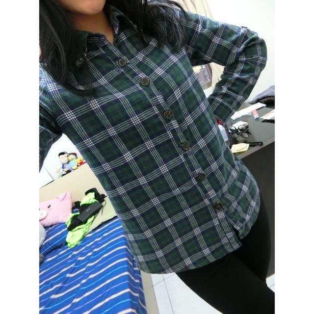 軍綠襯衫👕