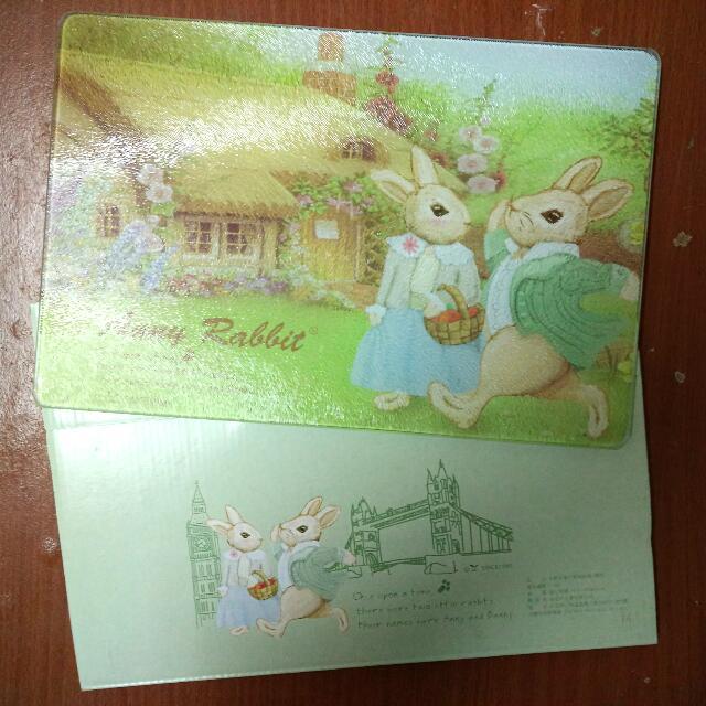 安妮兔強化玻璃砧板