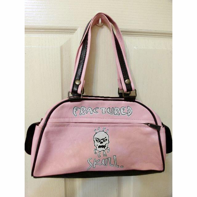 二手 > 粉紅龐克手提包