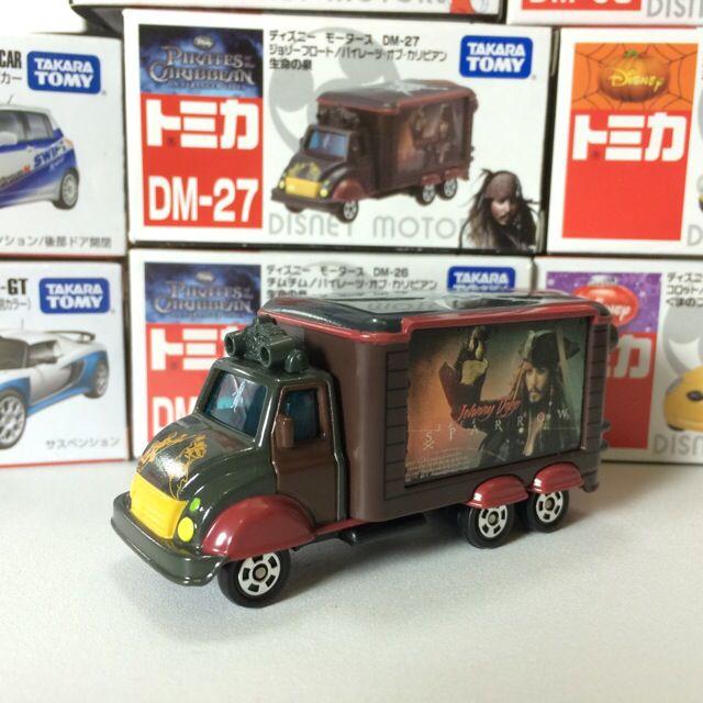 🔰絕版 Tomica DM-27 神鬼奇航 宣傳車 迪士尼 Disney 多美 小汽車 Tomy Takara
