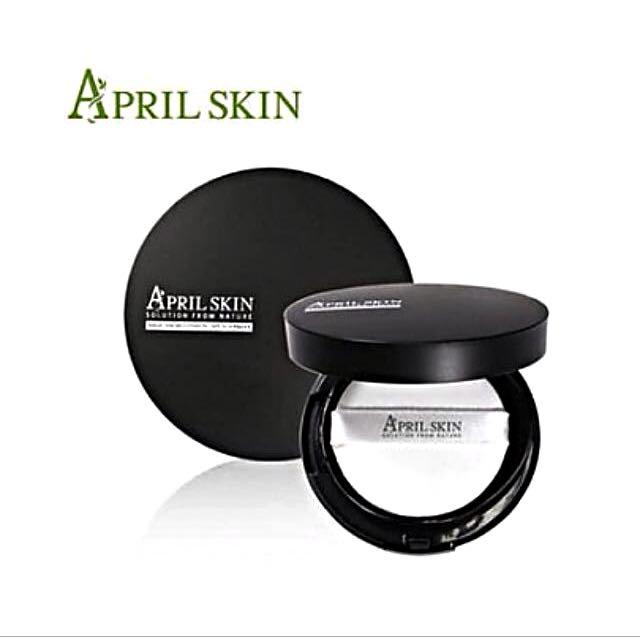 April Skin 氣墊粉餅 魔法石