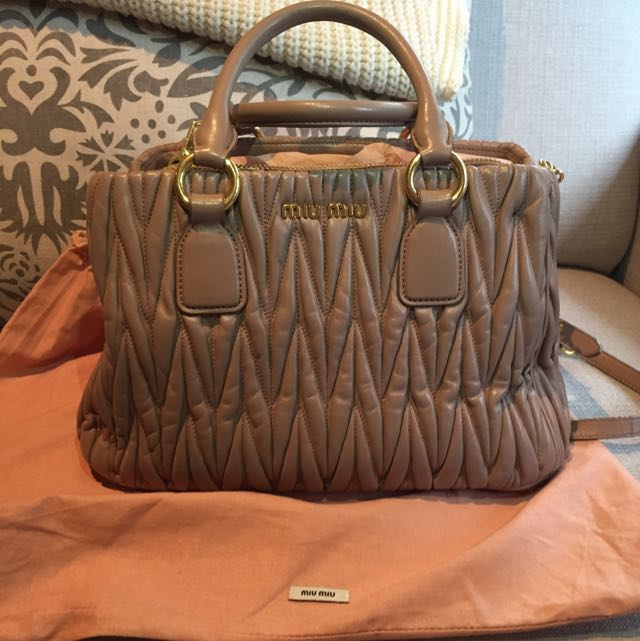 Authentic Miu Miu Handbag*Reprice*