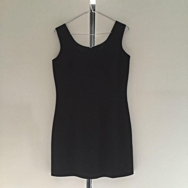 Black Shift Dress