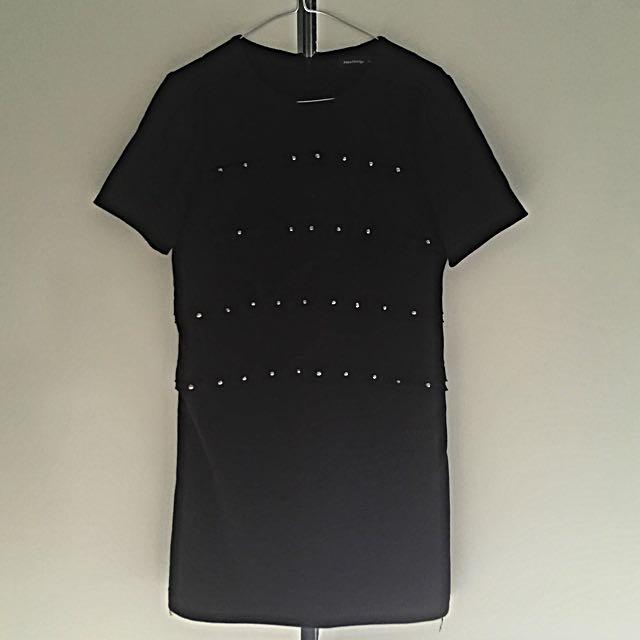 Black Shift Dress Size 8