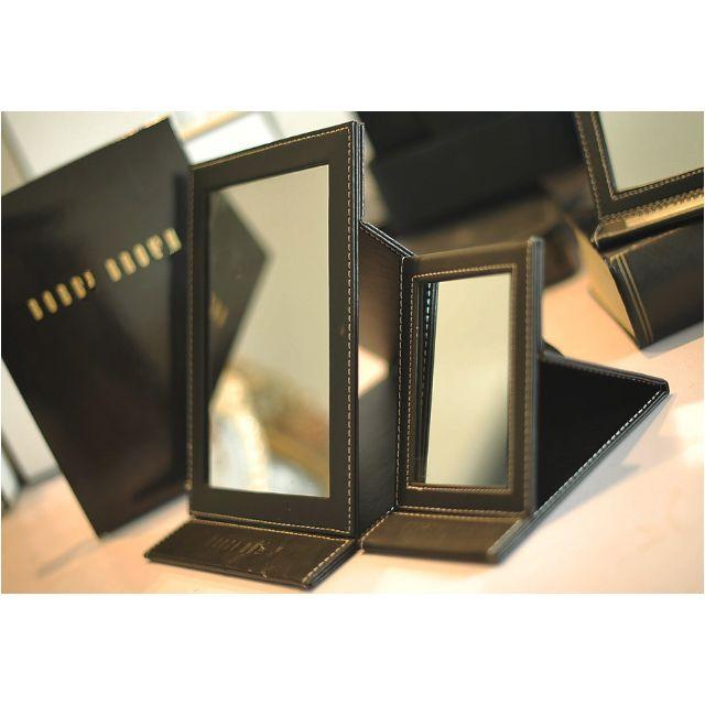 Bobbi Brown折疊化妝鏡 芭比布朗 化妝鏡子  附盒子