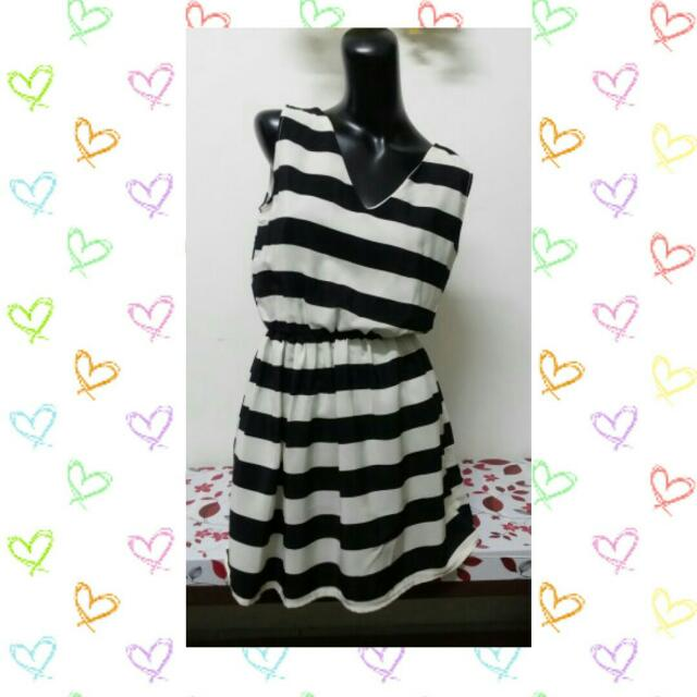 (Brand New) Casual Stripe Dress