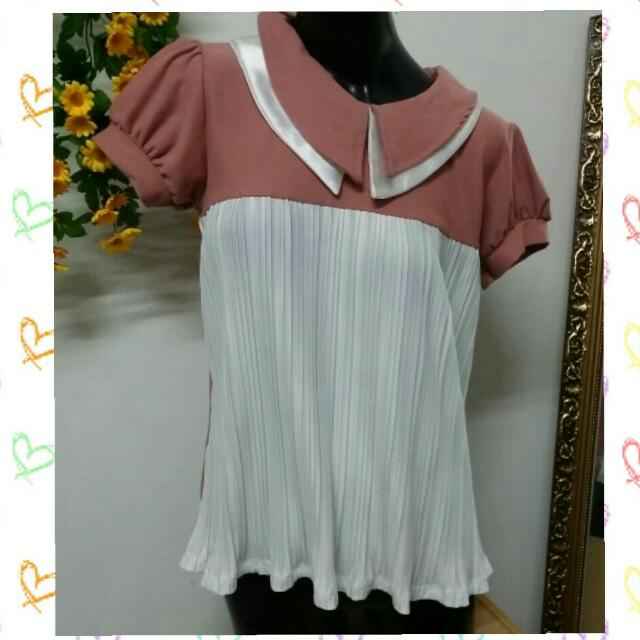 (Brand New) Korean Top Blouse