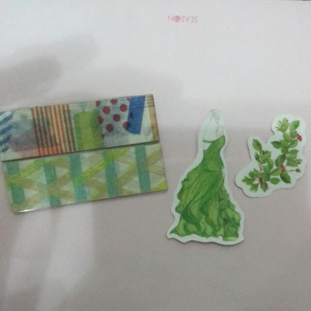💚紙膠帶分裝組-GREEN<含運>