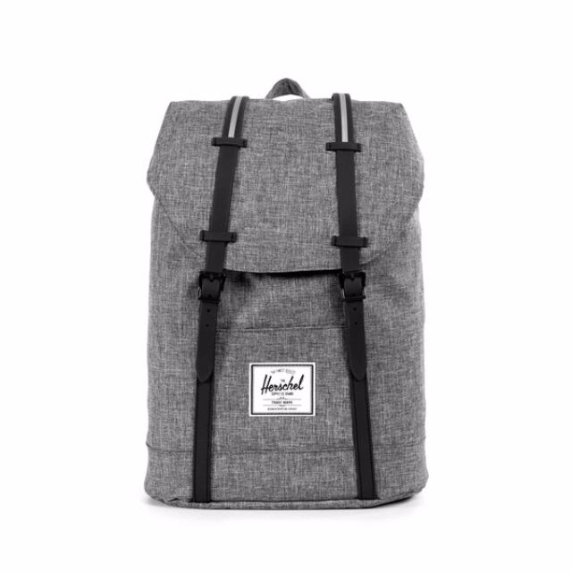 1b77f107f5c0 Herschel Retreat Backpack 22.5L (Raven Crosshatch Black)