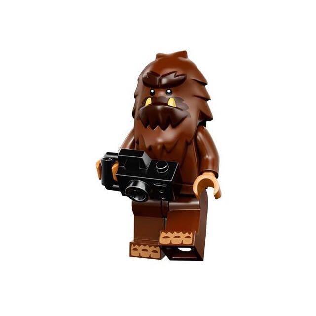 Lego 樂高 71010 minifigures 人偶包 14代 大腳怪