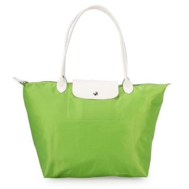 💕Longchamp特別款草綠色