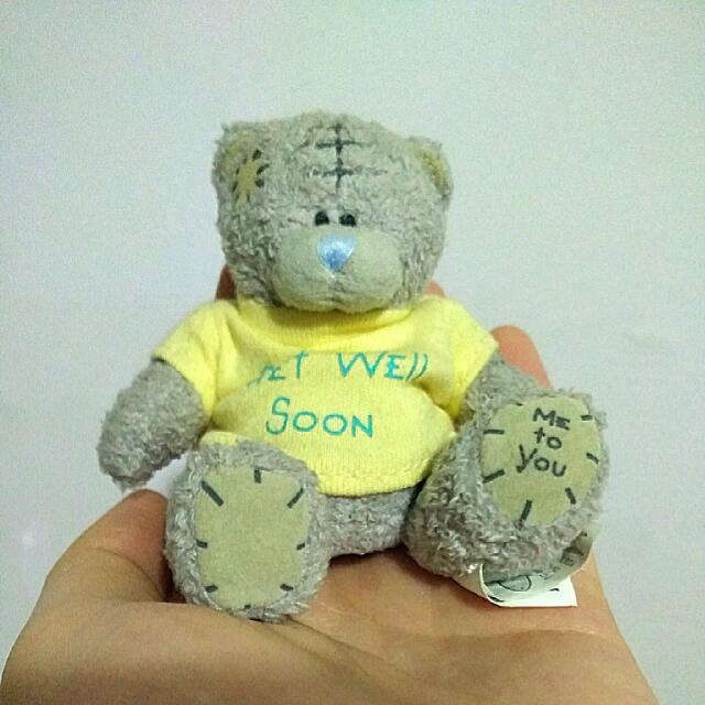 9ae6b785ac5 Me to You Soft Toy Bear  Get Well Soon