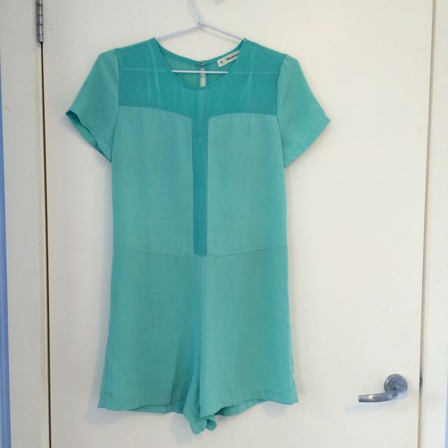 Mint Green Milka & Gala Jumpsuit Worn Once