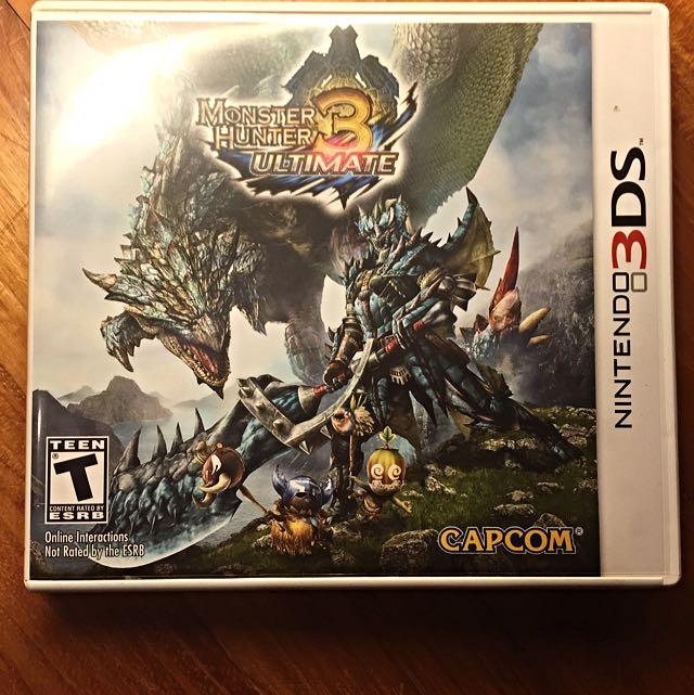 (Pending) Monster Hunter 3 Ultimate 3DS [Preowned]