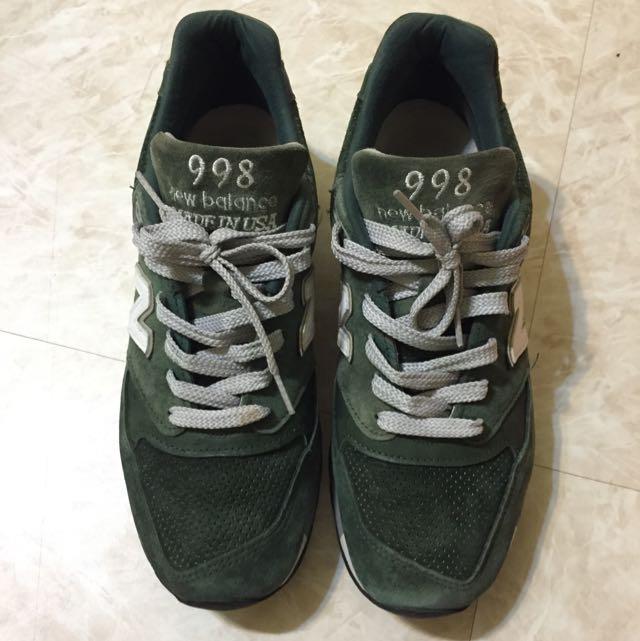 New Balance 998 森林綠 正品 27cm 美國製