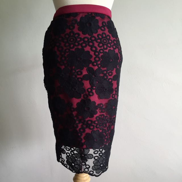 NEW Twenty3 Lace Skirt