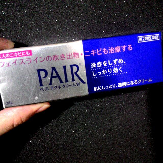 日本PAIR ACNES痘痘藥膏24g