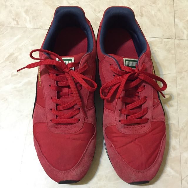 Puma 復古慢跑鞋 8成新 28.5cm