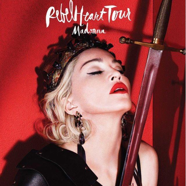 面交中-瑪丹娜Rebel Heart Tour 2016台北演唱會 1張 (黃3H區)