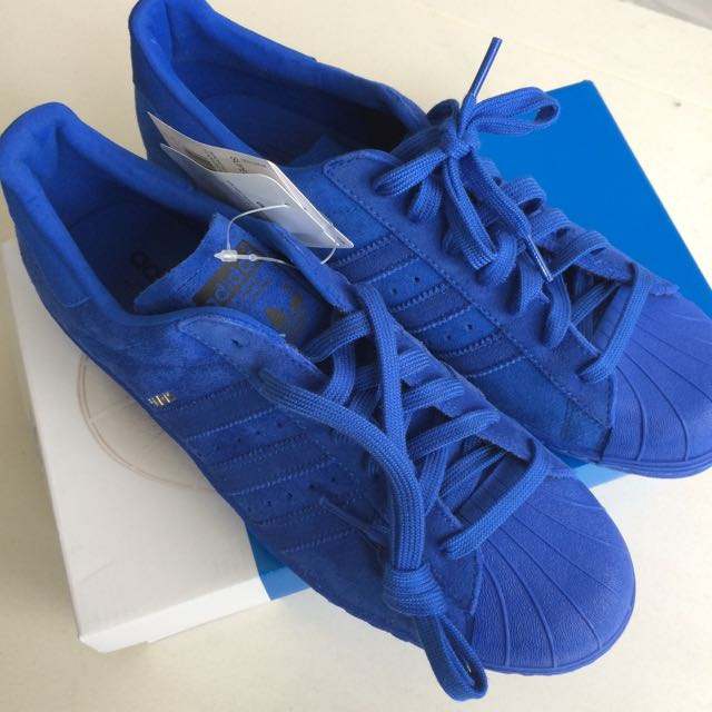 Adicolor Adidas Superstar 80s City Series 城市限量版 Paris 巴黎藍