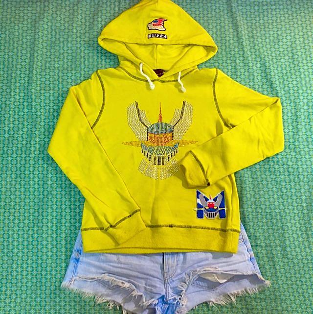 螢光黃帽T💛日本制🇯🇵