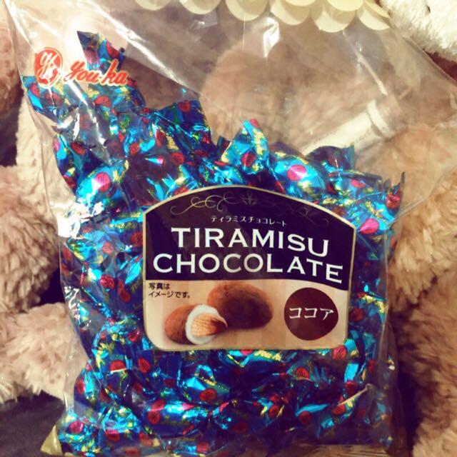 🎉售完【TIRAMISU 會呼吸的巧克力】現貨。大包裝。日本購回