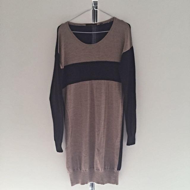 Wool Jumper Style Dress