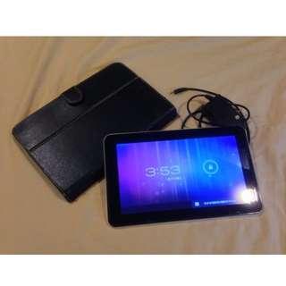 它牌安卓平板,8成新,低價賣出(好像是IS牌)玩具 PAD