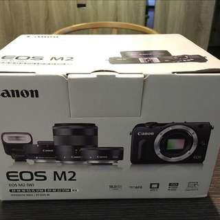 Canon EOS M2 全新 誠可議價