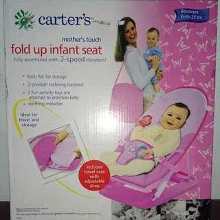 Carter's Fold Up Infant Seat - Pink