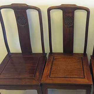 Pure Rosewood Oriental Antique Chair