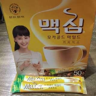 現貨到囉^_^韓國Maxim三合一咖啡