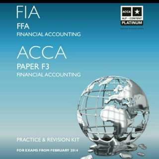 ACCA FIA Textbooks And Revision Kits