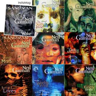 The Sandman Comics (Recolored Edition)
